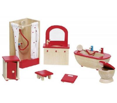 goki Набір для ляльок Меблі для ванної