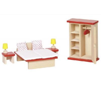 goki Набір для ляльок Меблі для спальні