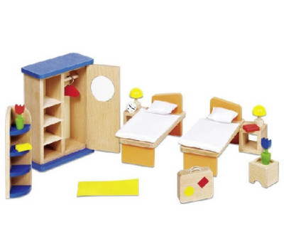 goki Набор для кукол Мебель для спальни