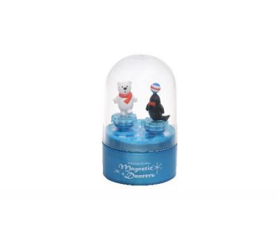 goki Музыкальная коробка - Тюлень и белый мишка (синяя)