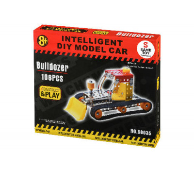 Same Toy Конструктор металевий - Бульдозер (106 ел.)