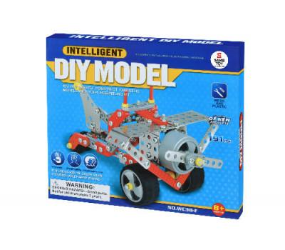 Same Toy Конструктор металевий - Літак (191 ел.)