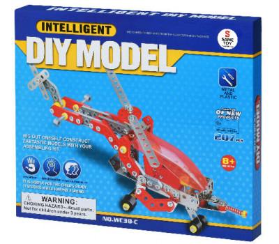 Same Toy Конструктор металевий - Літак (207 ел.)