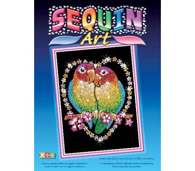 Sequin Art Набор для творчества BLUE Love Birds