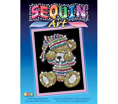 Sequin Art Набор для творчества BLUE Teddy