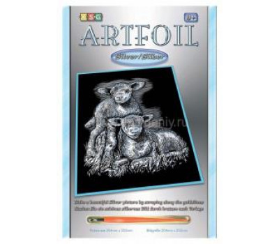 Sequin Art Набір для творчості ARTFOIL SILVER Lambs