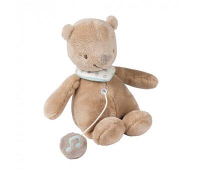 Nattou з музикою ведмедик Базиль (21 см)