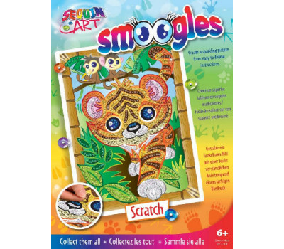 Sequin Art Набір для творчості SMOOGLES Тигр