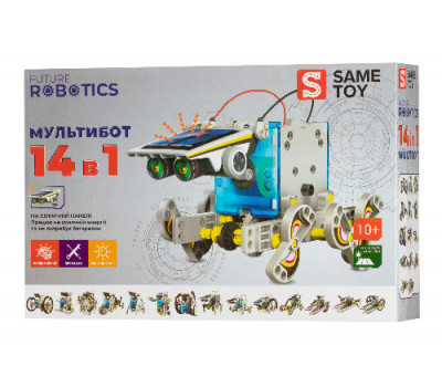 Same Toy Робот-конструктор - Мультібот 14 в 1 на сонячній батареї