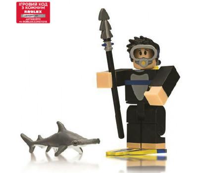 Roblox Игровая коллекционная фигурка Сore Figures Fish Simulator: Diver W5