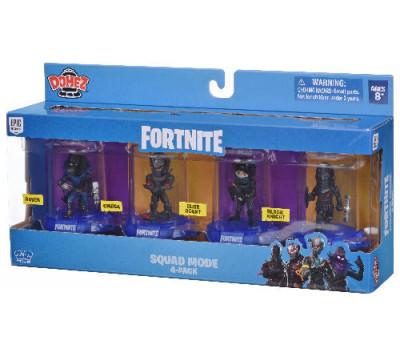 Domez Колекційна фігурка Launch Squad (4 фігурки  в наборі)