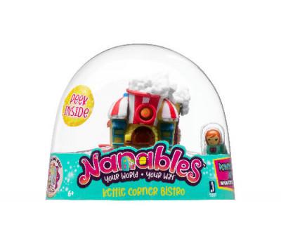 Nanables Игровая фигурка Small House Город сладостей Бистро
