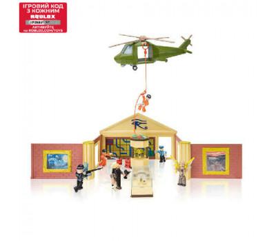 Roblox Игровая коллекционная фигурка Deluxe Playset Jailbreak: Museum Heist W6