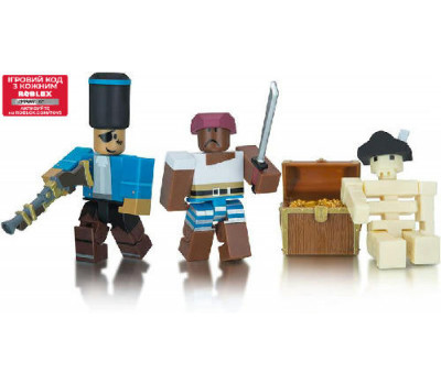 Roblox Игровая коллекционная фигурка Game Packs Cannoneers: Battle for Jolly Island W6