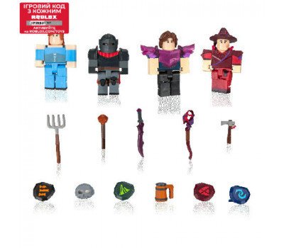 Roblox Набор Four Figure Pack Vesteria: Dark Forest W5