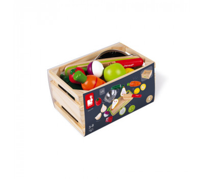 Janod Игровой набор - Овощи и фрукты