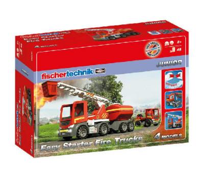 fischertechnik Конструктор JUNIOR Easy Starter Пожарные машины