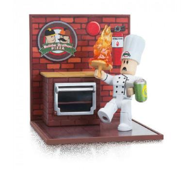 Roblox Ігрова колекційна фігурка Desktop Series Work At A Pizza Place: Fired W6